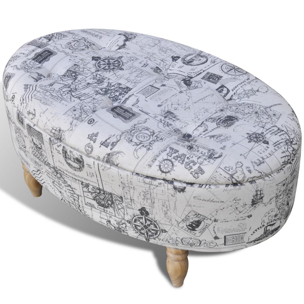 Asombroso Almacenamiento De Modelado Muebles Otomana Festooning ...