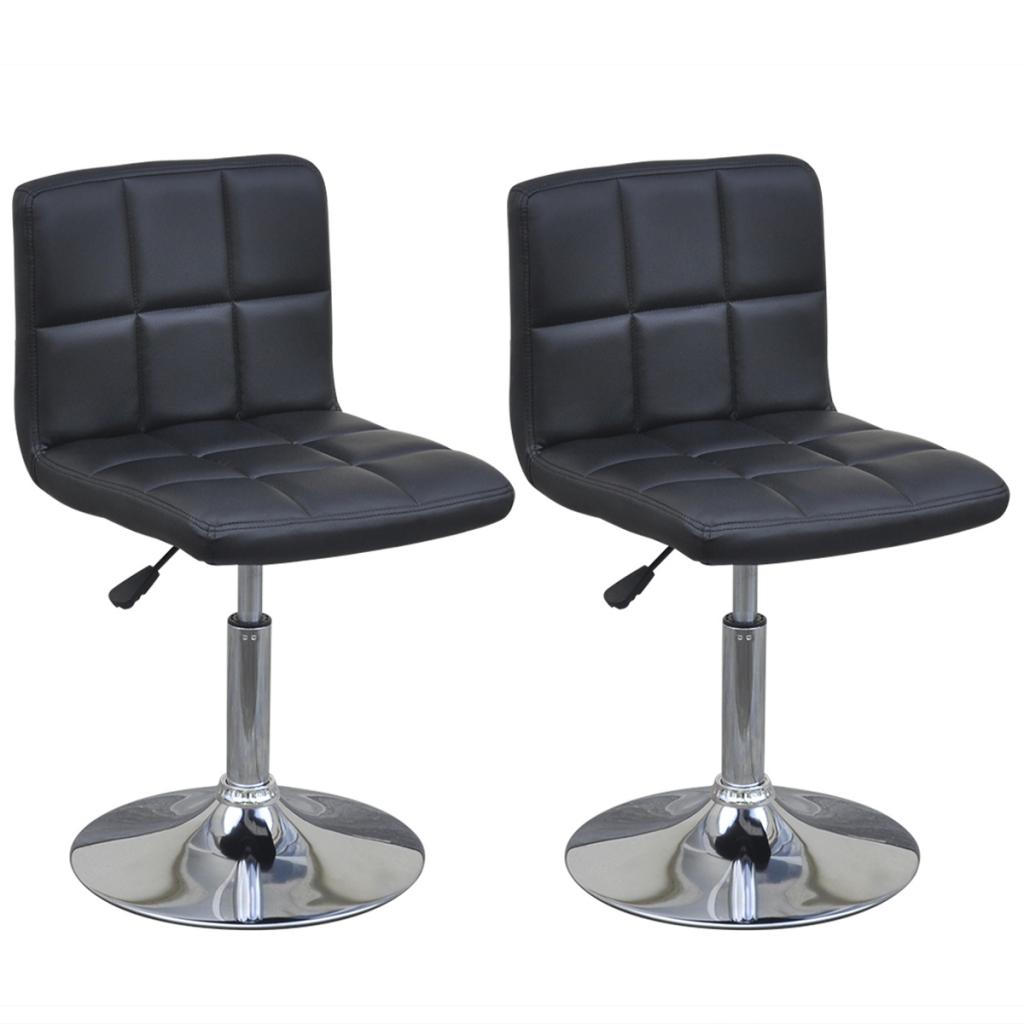 Only 2 hauteur pivotante r glable chaise avec for Chaise pivotante