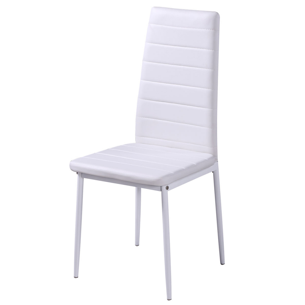 nur 4 september wei e st hle 1 tisch mit modernem design. Black Bedroom Furniture Sets. Home Design Ideas