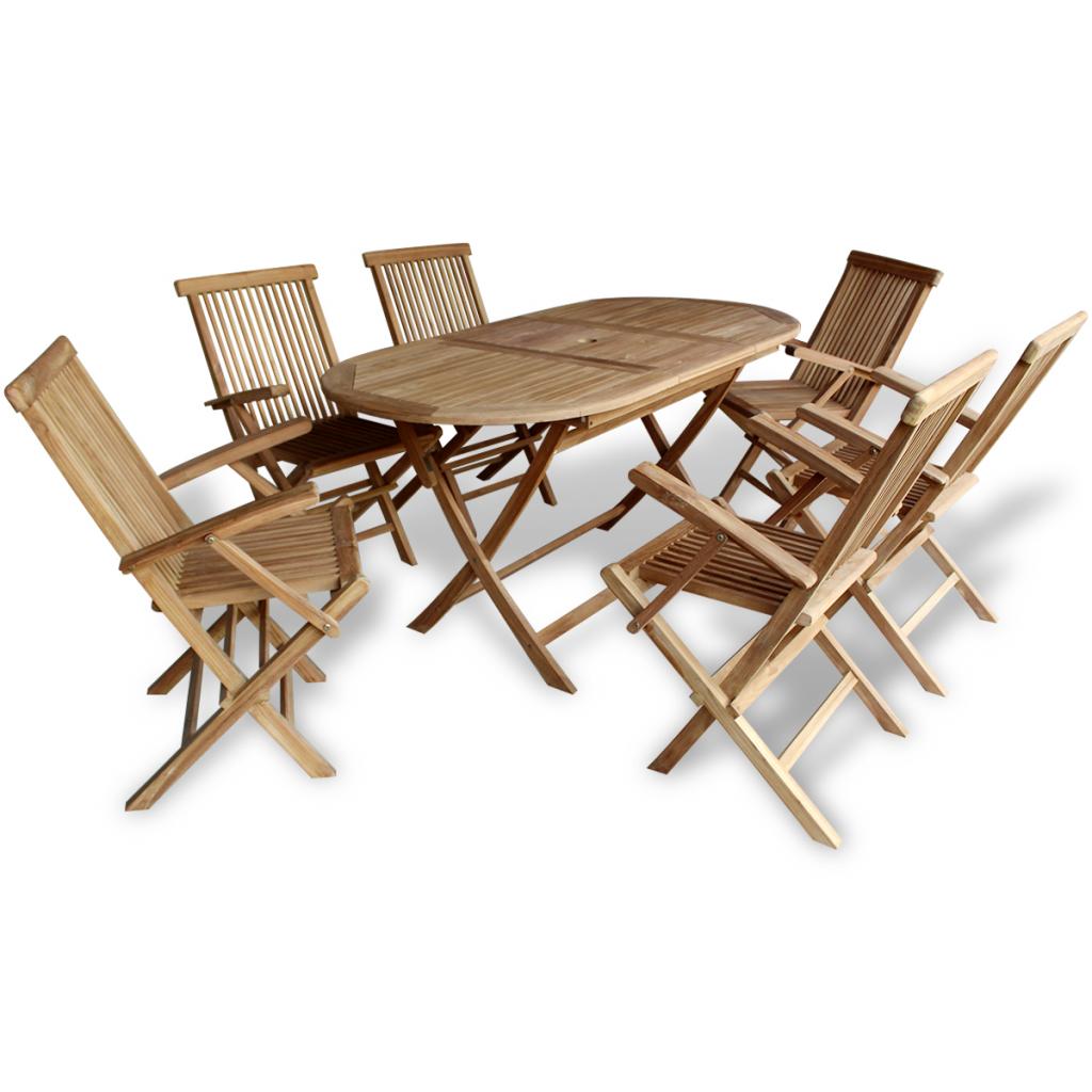 garden furniture set dining table teak - Garden Furniture Teak