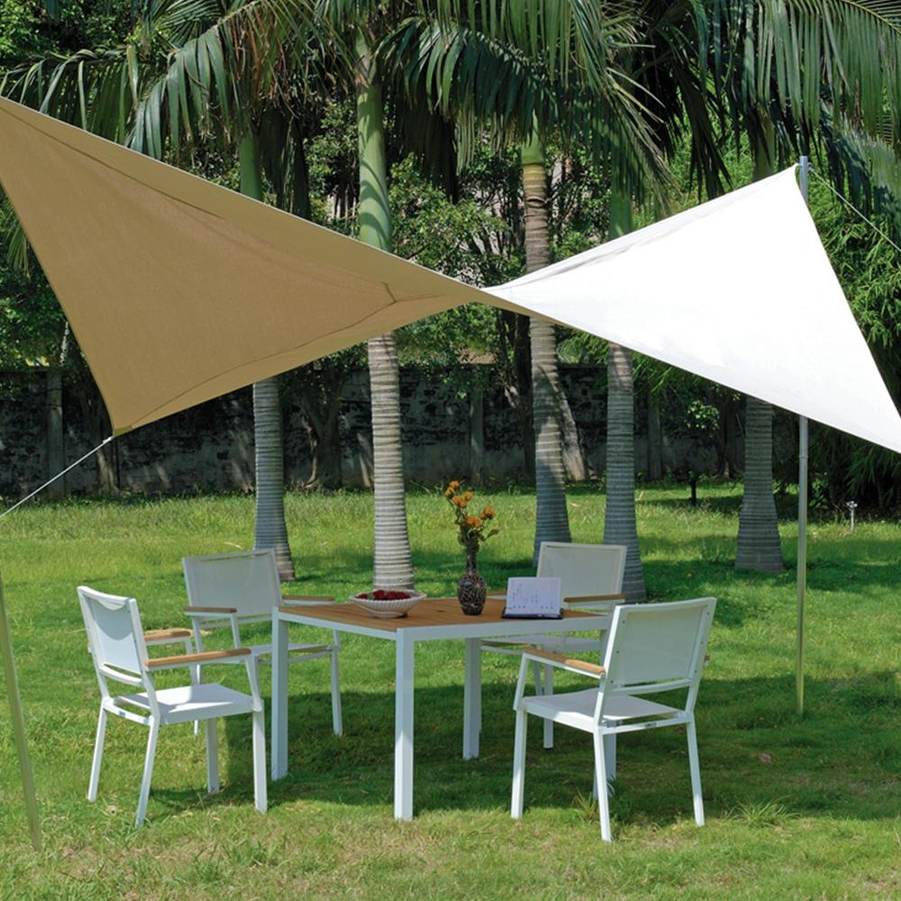 voile d 39 ombrage carr e en alu polyester 410g m. Black Bedroom Furniture Sets. Home Design Ideas