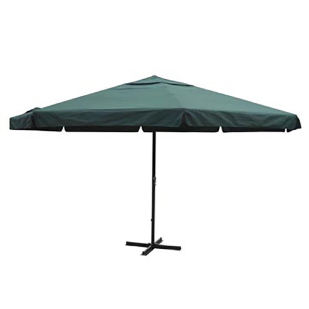 parasol rond avec pied en alu 5m de diam tre seulement sur. Black Bedroom Furniture Sets. Home Design Ideas