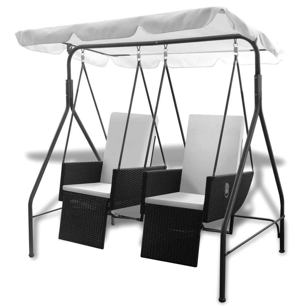 d s balancelle 2 places avec fauteuils. Black Bedroom Furniture Sets. Home Design Ideas