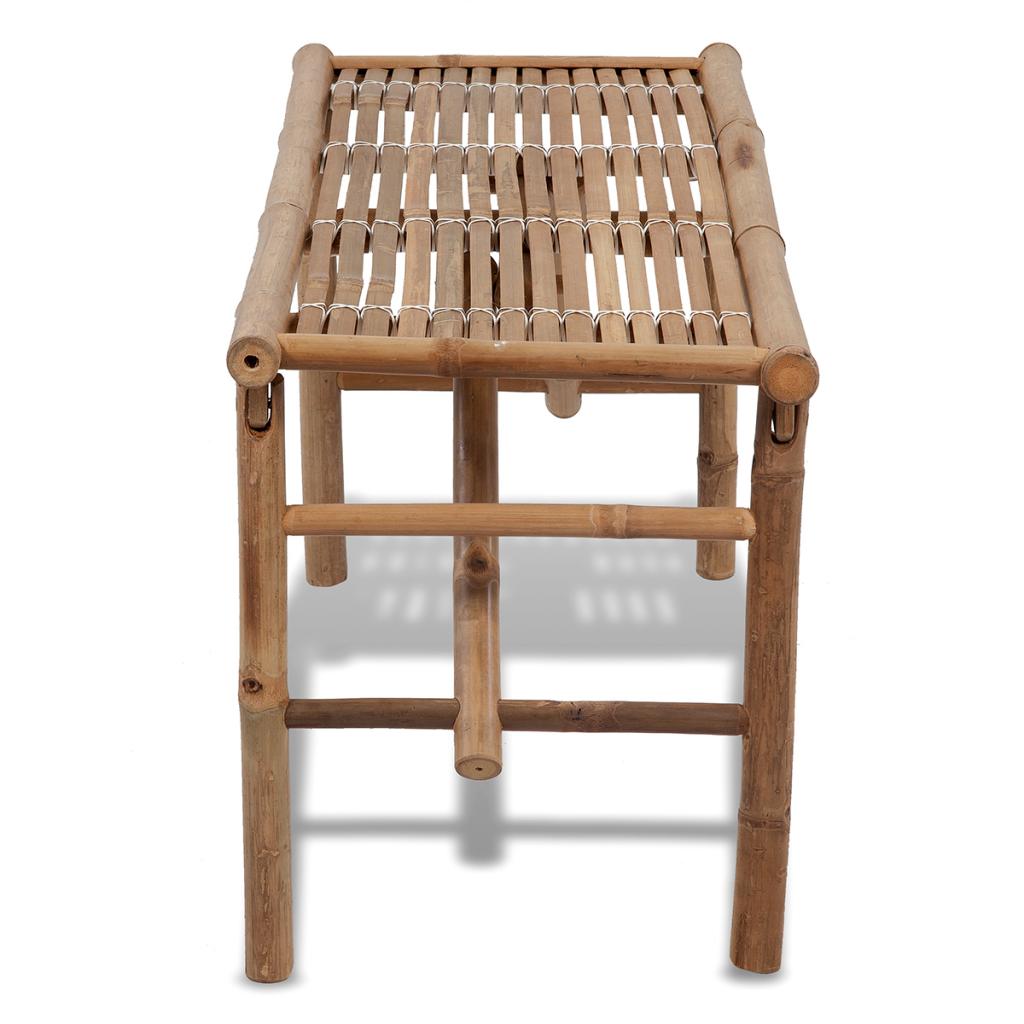 banc pliable en bambou. Black Bedroom Furniture Sets. Home Design Ideas