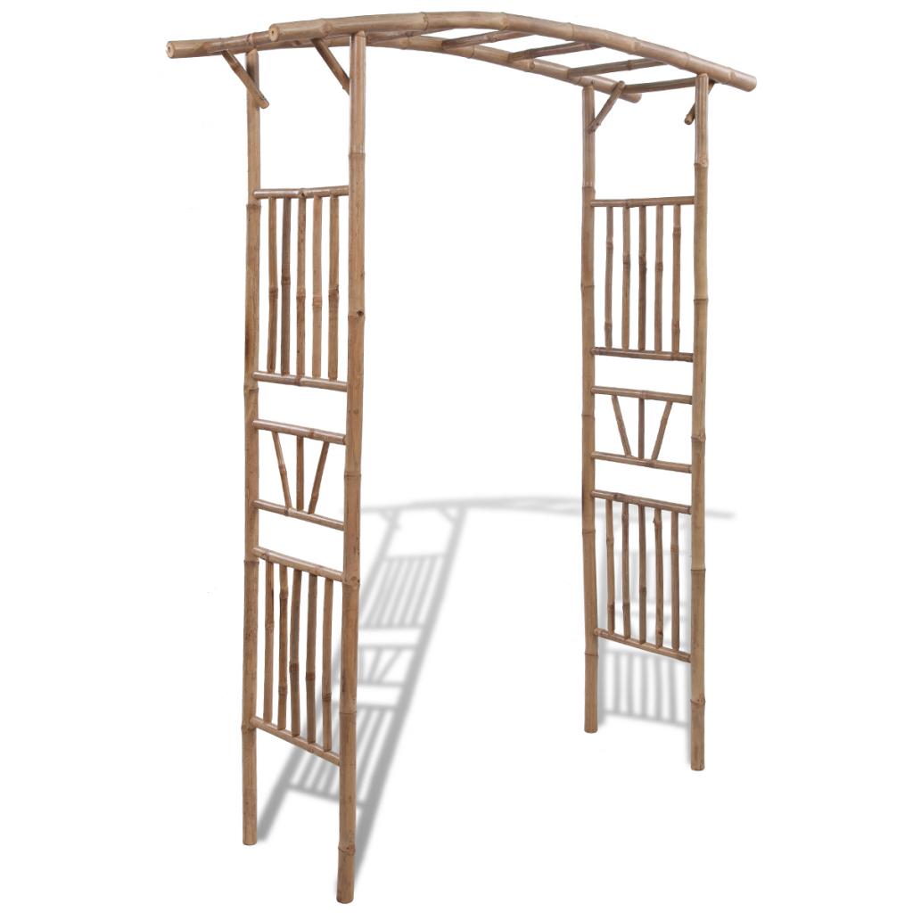 arche de jardin en bambou. Black Bedroom Furniture Sets. Home Design Ideas