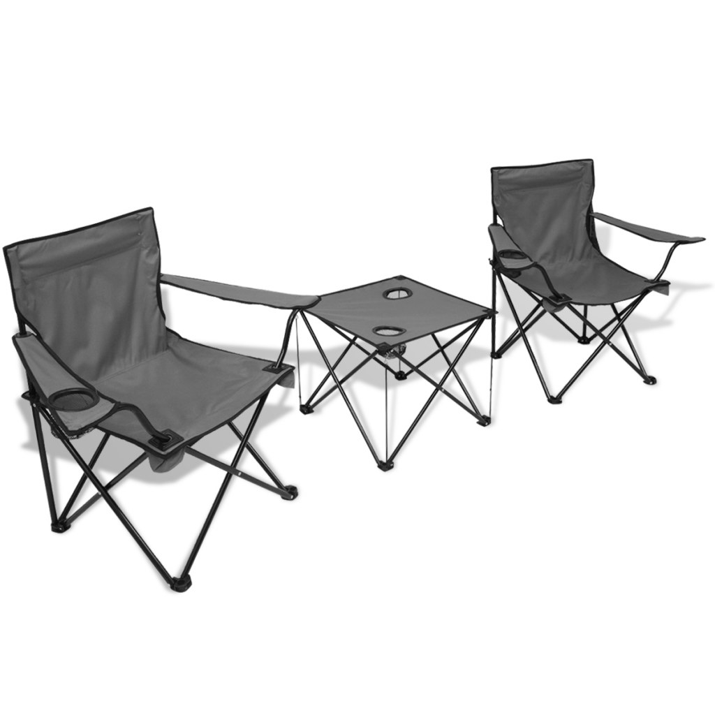 d s ensemble de table et chaises de camping avec 4. Black Bedroom Furniture Sets. Home Design Ideas