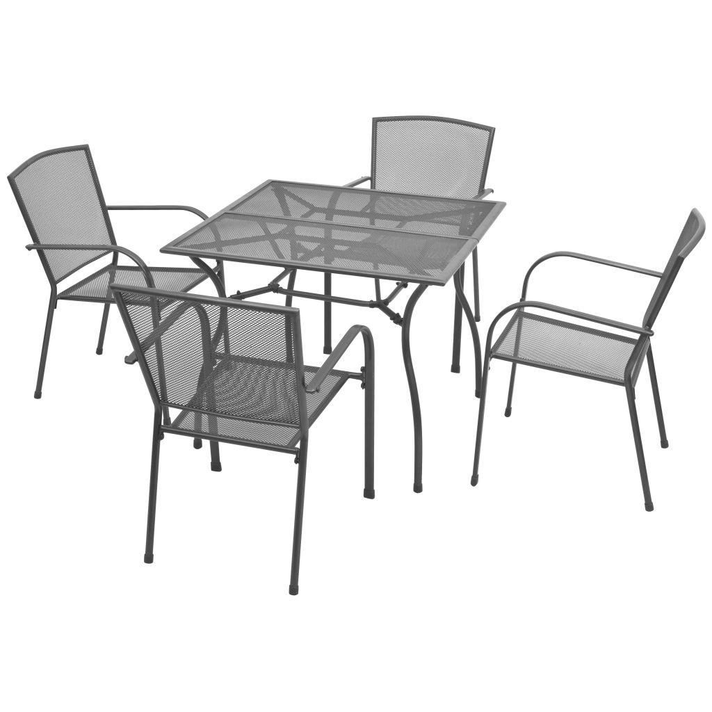 Ensemble De Table Et Chaises Jardin 4 Personnes
