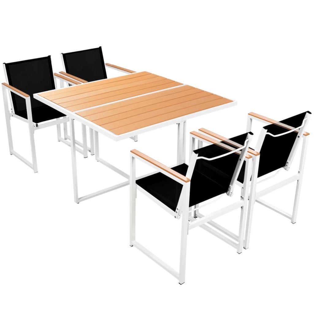 ensemble de salle manger ext rieur 4 personnes. Black Bedroom Furniture Sets. Home Design Ideas