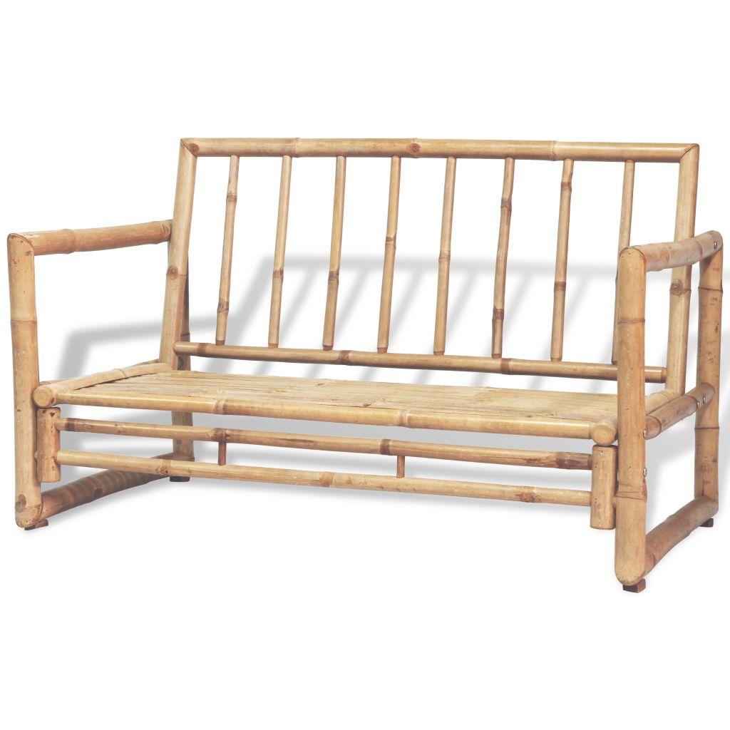 Dès 639.99€, Ensemble de mobilier de jardin Bambou - Interougehome.com