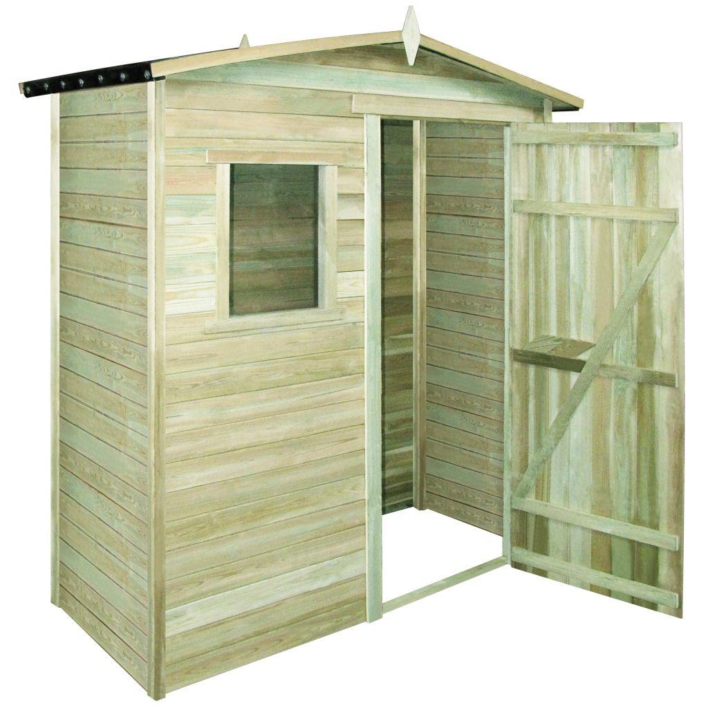 Abri de stockage pour jardin cabanon en pin impr gn 2 x 1 x 2 1 m - Abri de jardin japonais calais ...