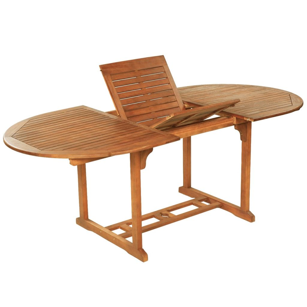 Ensemble de mobilier de jardin bois d 39 acacia massif - Mobilier jardin bois saint paul ...