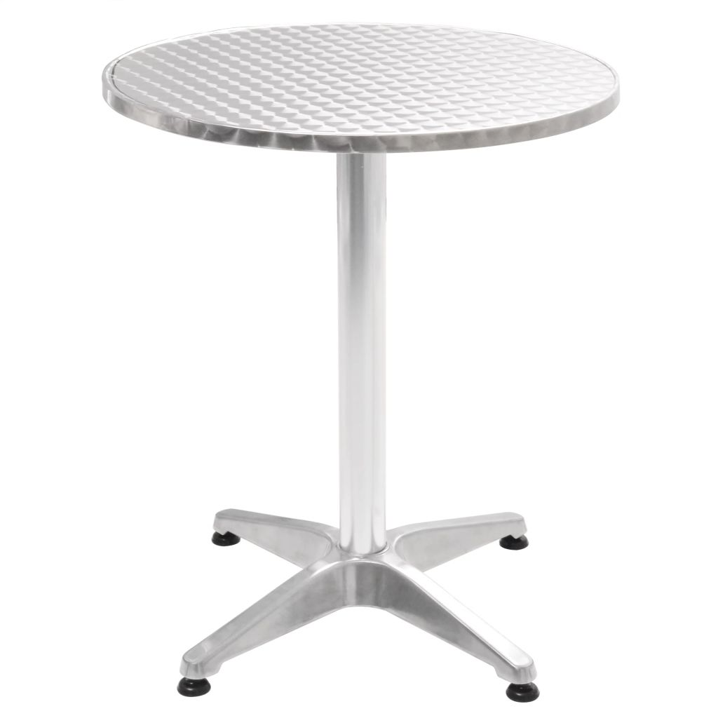 Table de jardin ronde Aluminium
