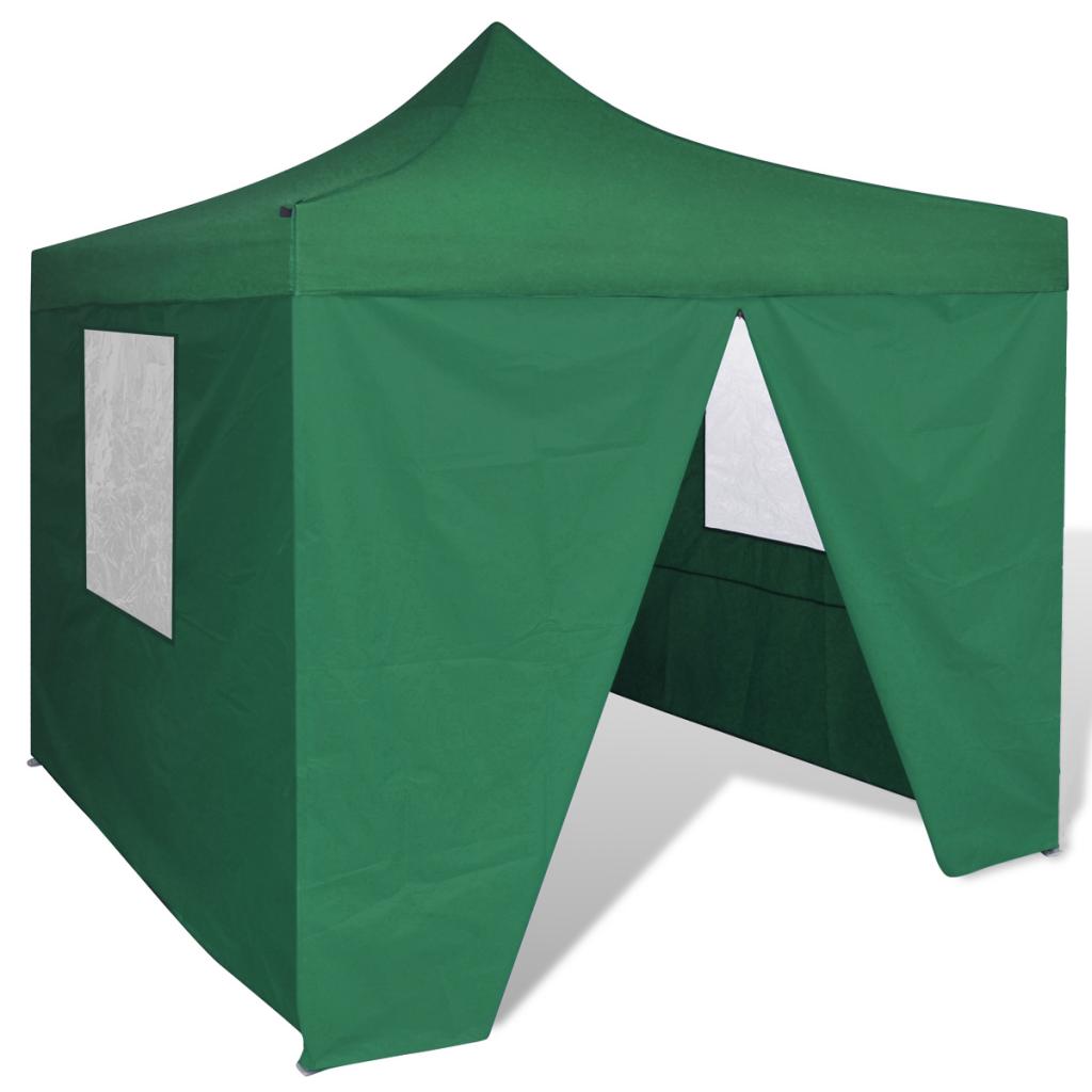 Nur 165.99€, Grün faltbare Zelt 10 \'x 10\' mit 4 Walls - LovDock.com