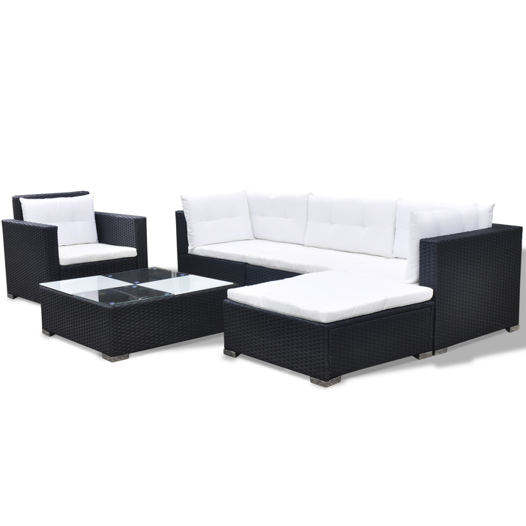 rattan sofa garten trendy sofa lounge mbel grau living. Black Bedroom Furniture Sets. Home Design Ideas