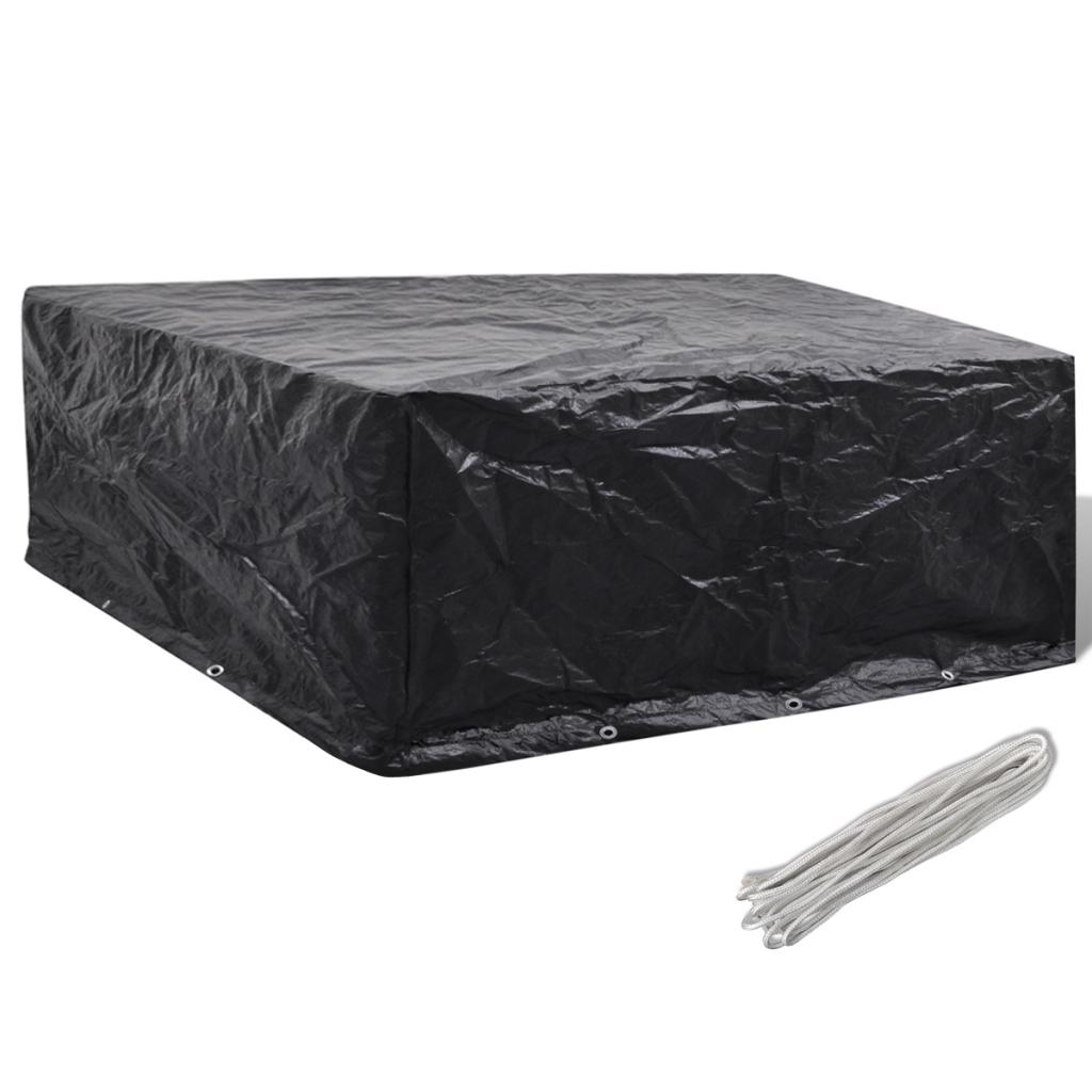 Sólo 17.99€, cubierta de tela para muebles de exterior con 10 ojales ...