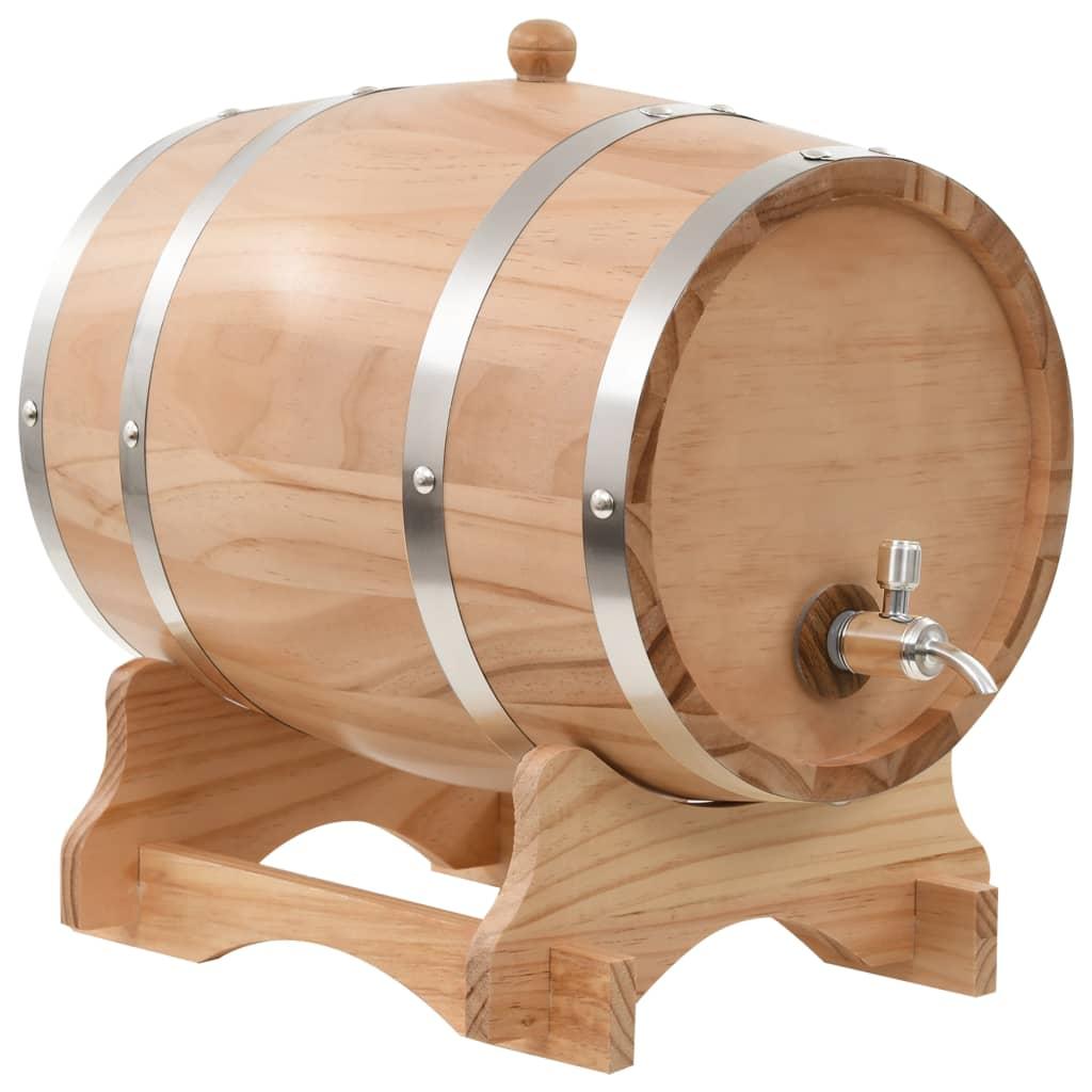 Dès 119.99€, Tonneau à vin Récipient pour Le vin Fût avec Robinet comme  décoration Pin Massif 12 L bois naturelle - Interougehome.com