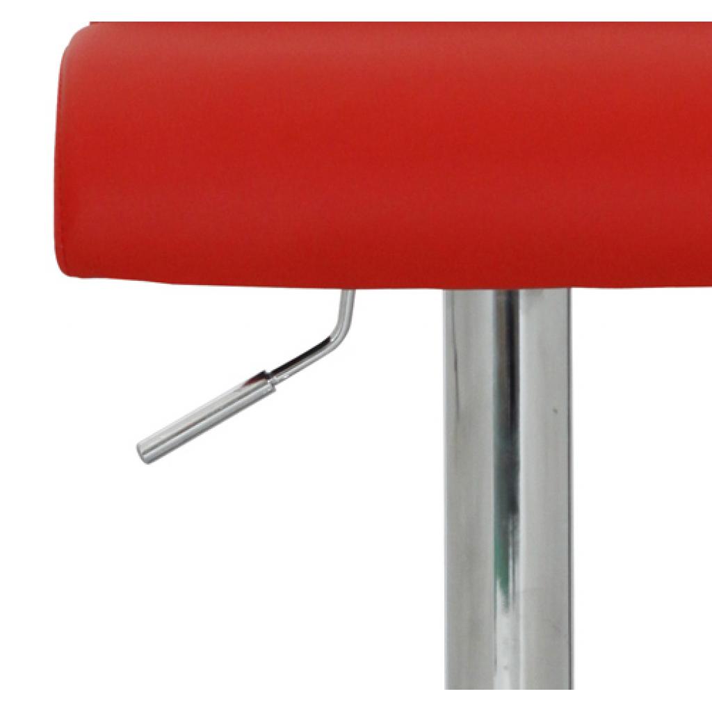 Nur 155.54€, 2 rote Küche Cape Cod Eco-Leder Barhocker - LovDock.com