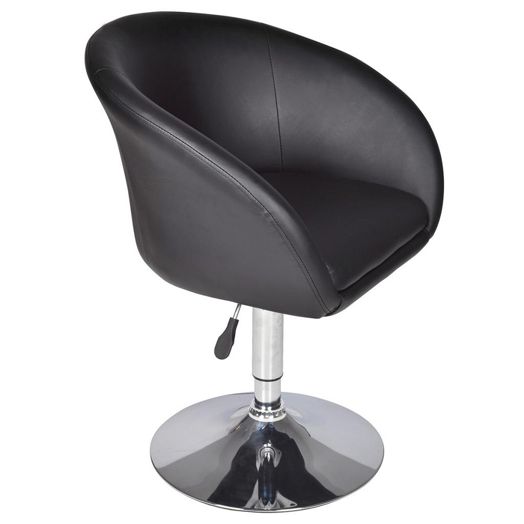 fauteuil pivotant rond fauteuil noir interougehome. Black Bedroom Furniture Sets. Home Design Ideas