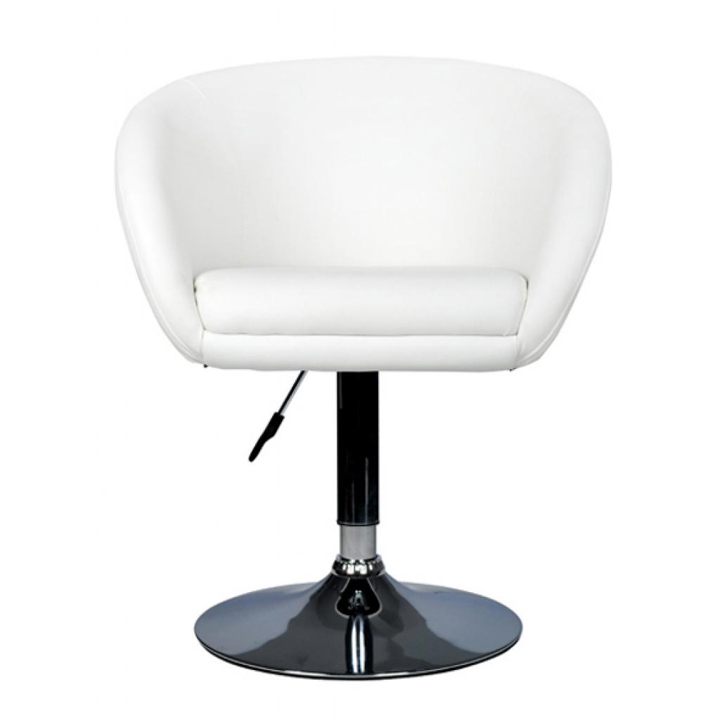 white 2 x Bar stool tub white 100% PU - LovDock.com