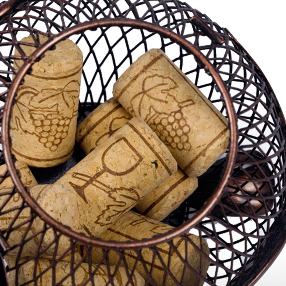 Gatito vino corcho contenedor ornamento animal ornamento for Lopez del hierro decoracion