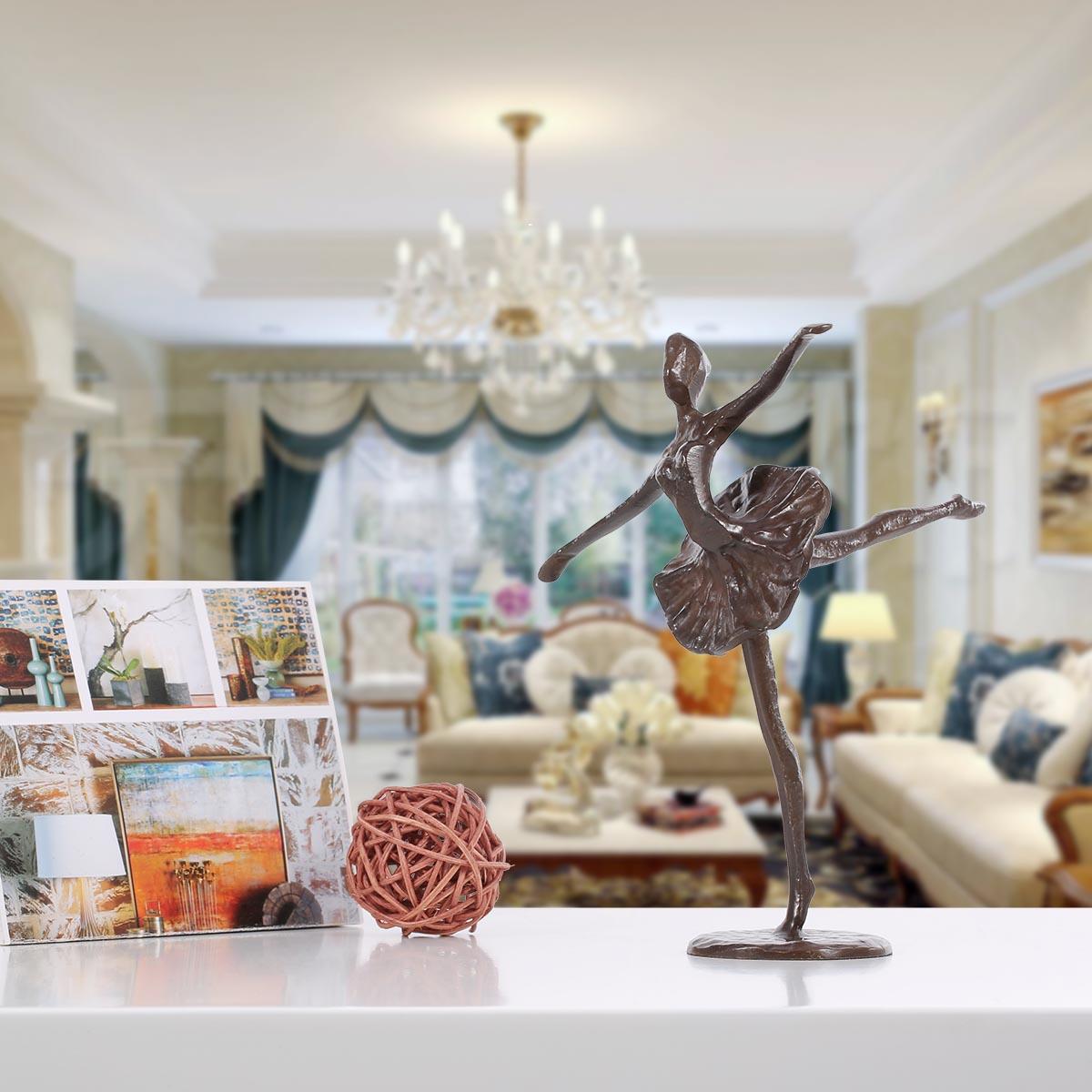 Best and cheap bronze ballet bronze sculpture metal for Best home decor gifts