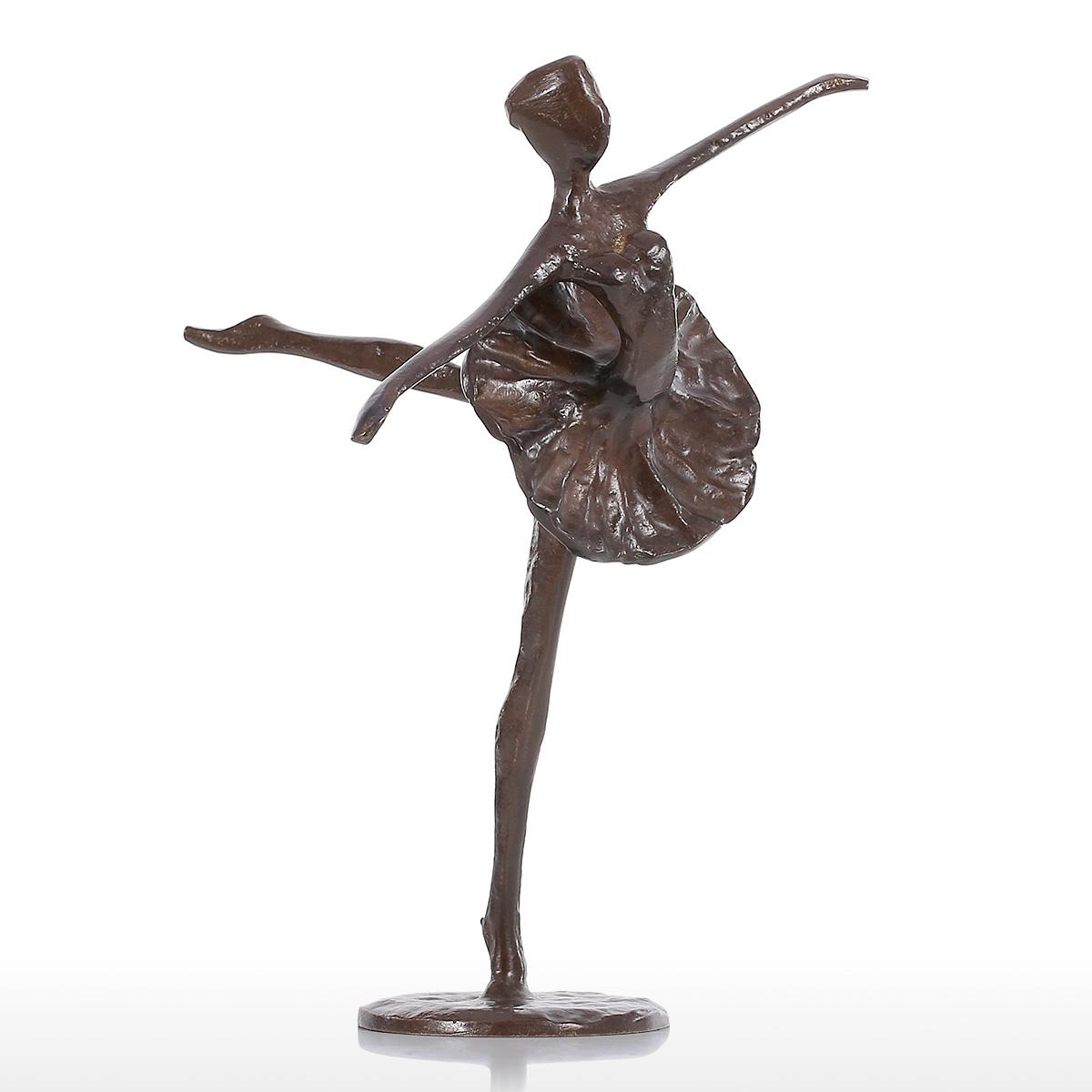 Best and cheap bronze ballet sculpture metal