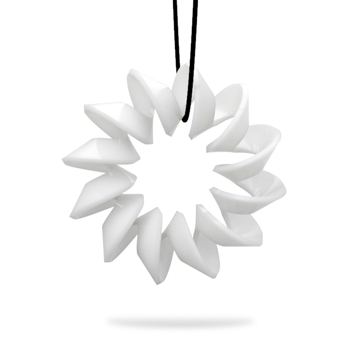 3d printed flower earrings