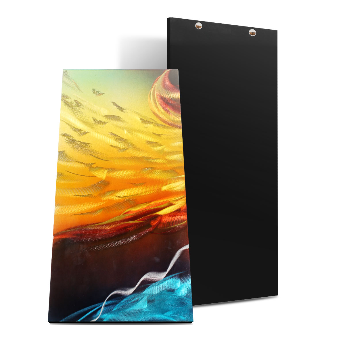 Best and cheap wall hangings Tooarts Fire and Ice Modern Painting ...