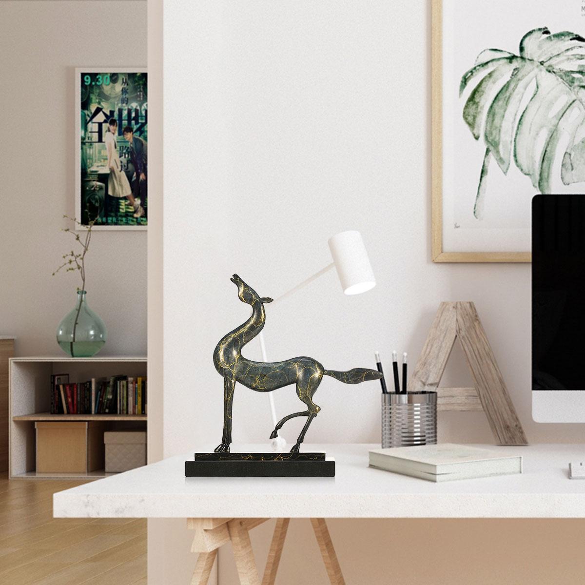 Raising Head Horse Decor Statue Gifts Home Decoration Accents Modern  Collectible Figurine Art Artist Designed Handmade Sculpture
