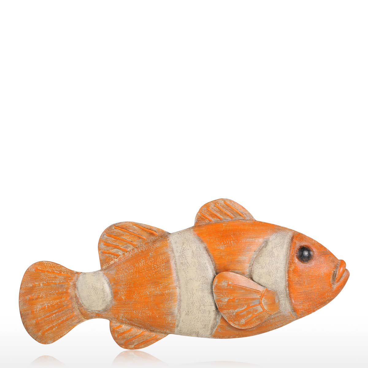 Best and cheap color3 fish wall hanging 1 iron wall decor for Fish wall hanging