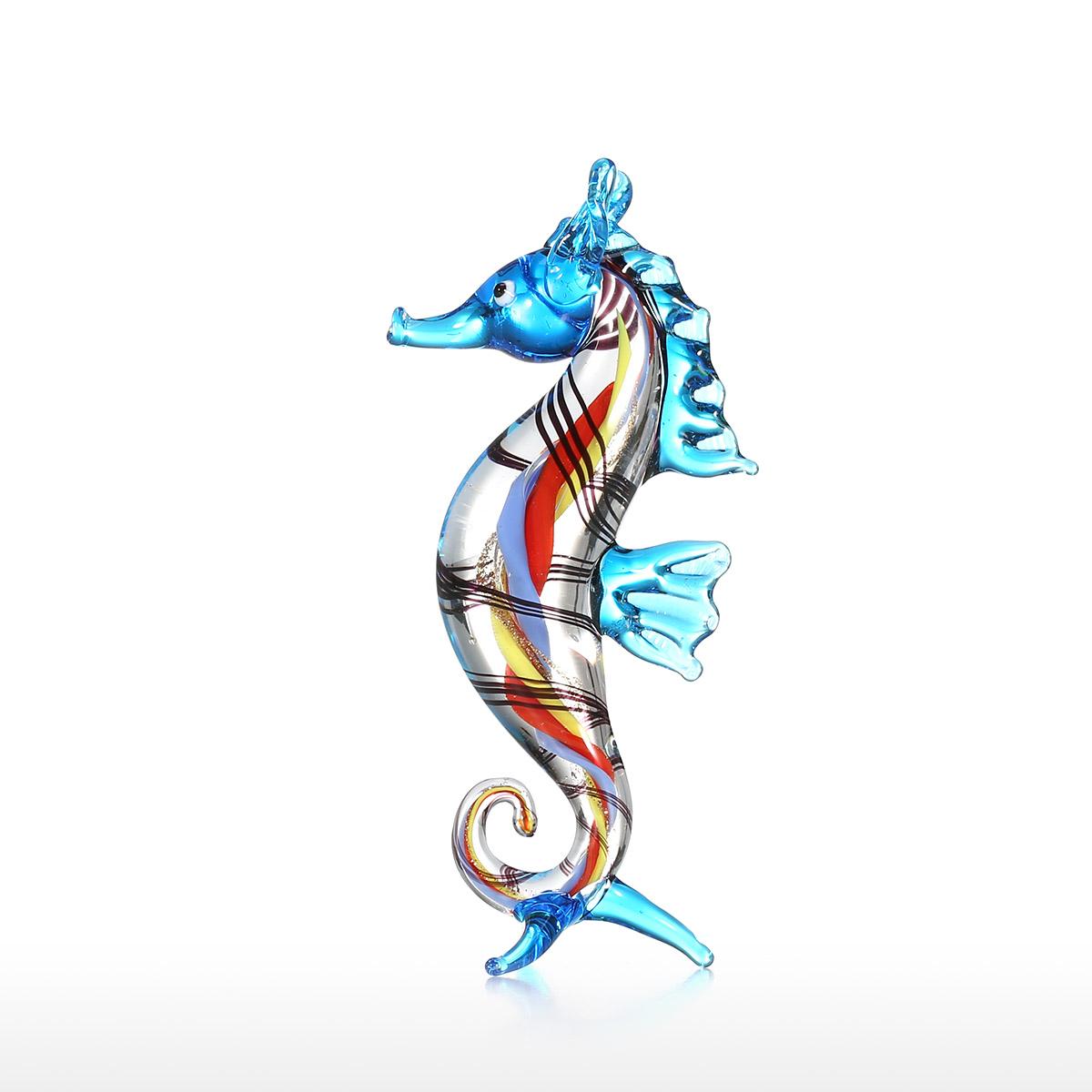 Mejor y barato Little Seahorse Sea Life Sculpture Wild Life Figurine ...