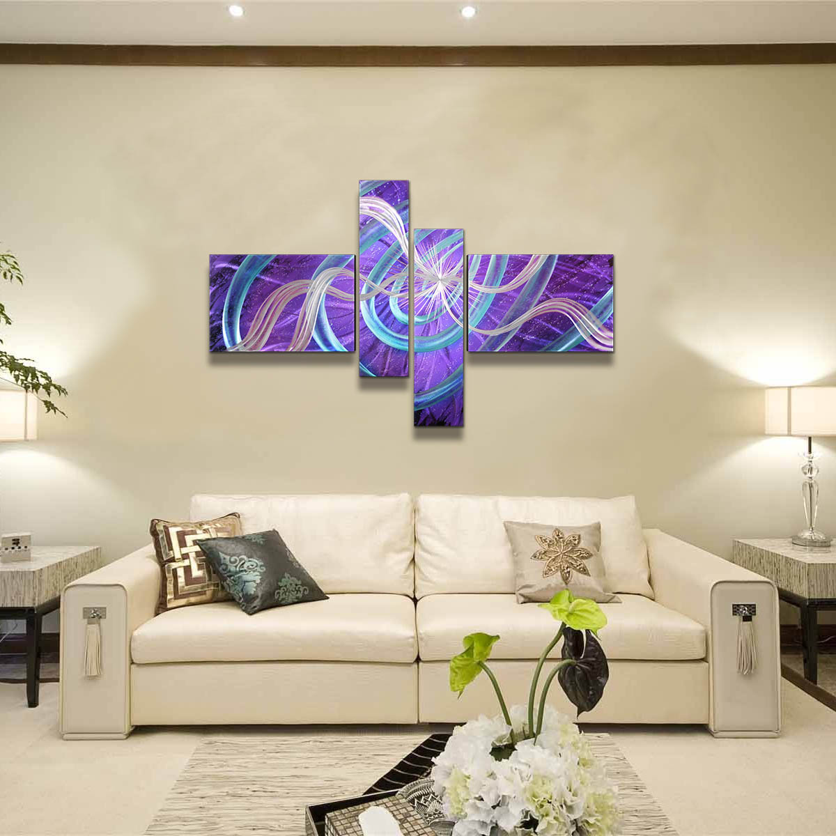 Best And Cheap Wall Hangings Tooarts Stars Modern Painting Wall Art