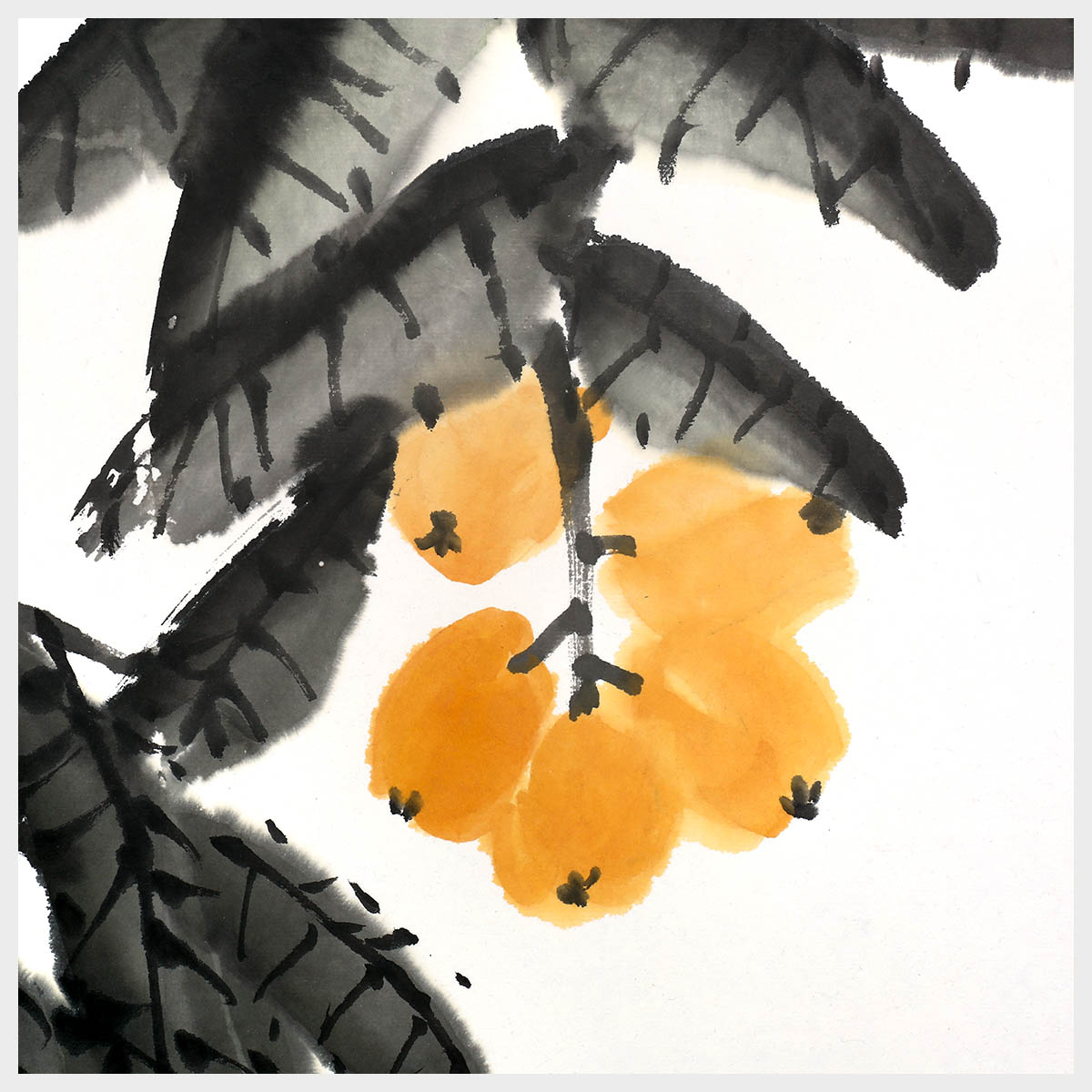 Gold Berry Fruit Painting Natural Art Home Decor Wall Art Painting Print Pictures 100 Handmade Artwork