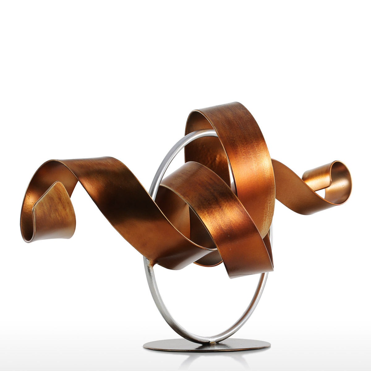 Best and cheap golden tooarts wriggle modern sculpture