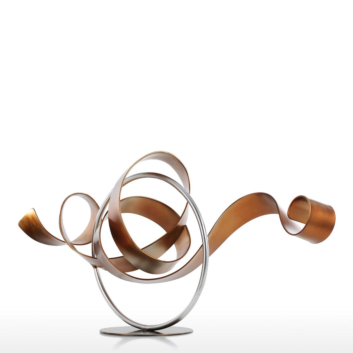 Home Decor Warehouse Sale Best And Cheap Golden Tooarts Wriggle Modern Sculpture