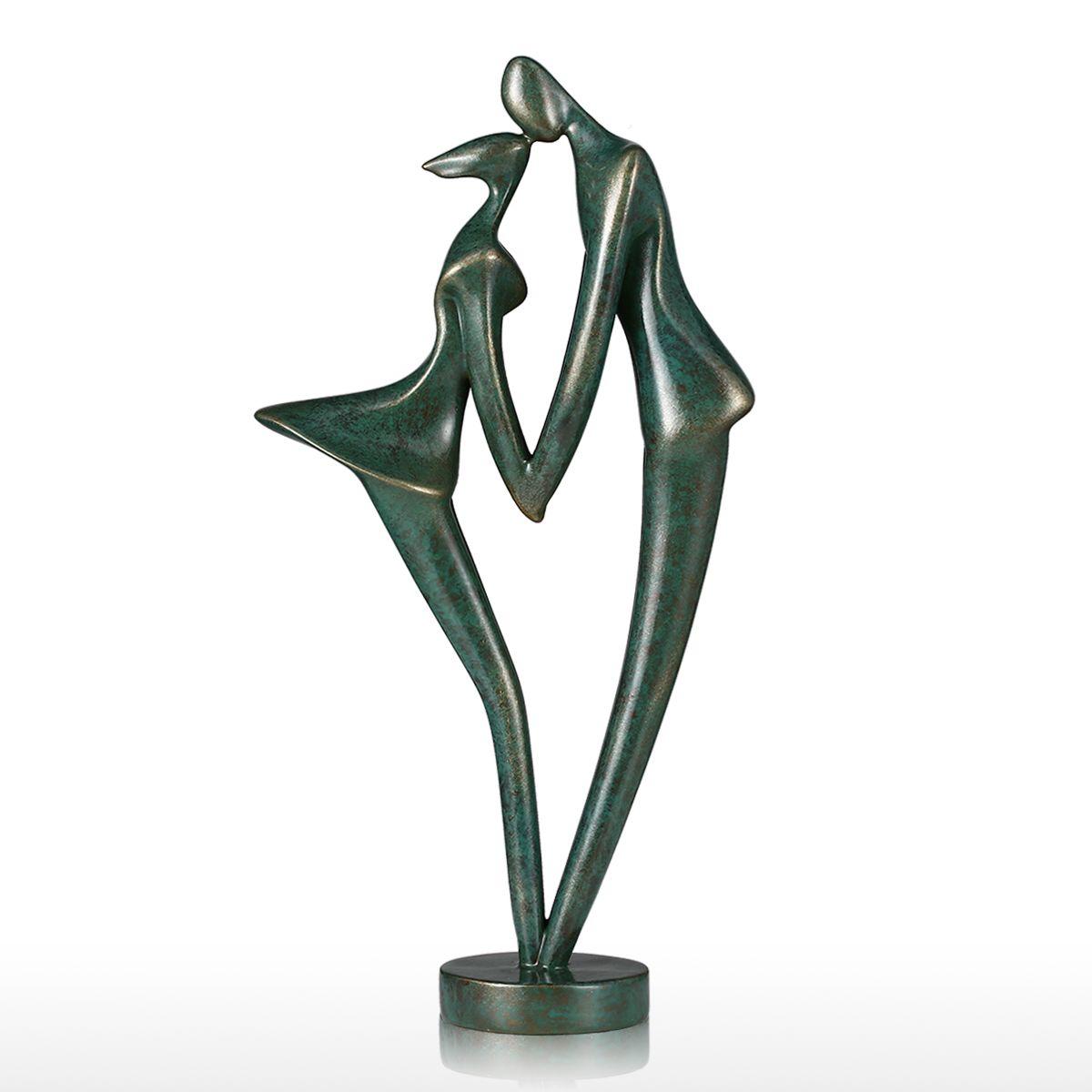 best and cheap bronze new couple 1 tomfeel fiberglass sculpture home decoration original design. Black Bedroom Furniture Sets. Home Design Ideas