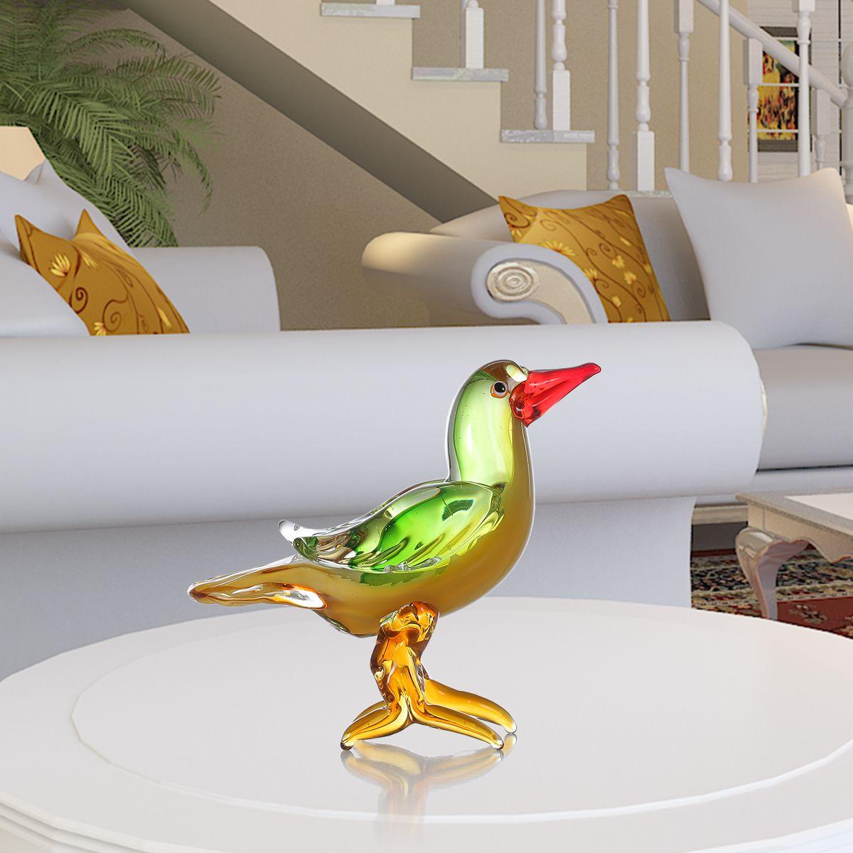 Glass sculpture home decor