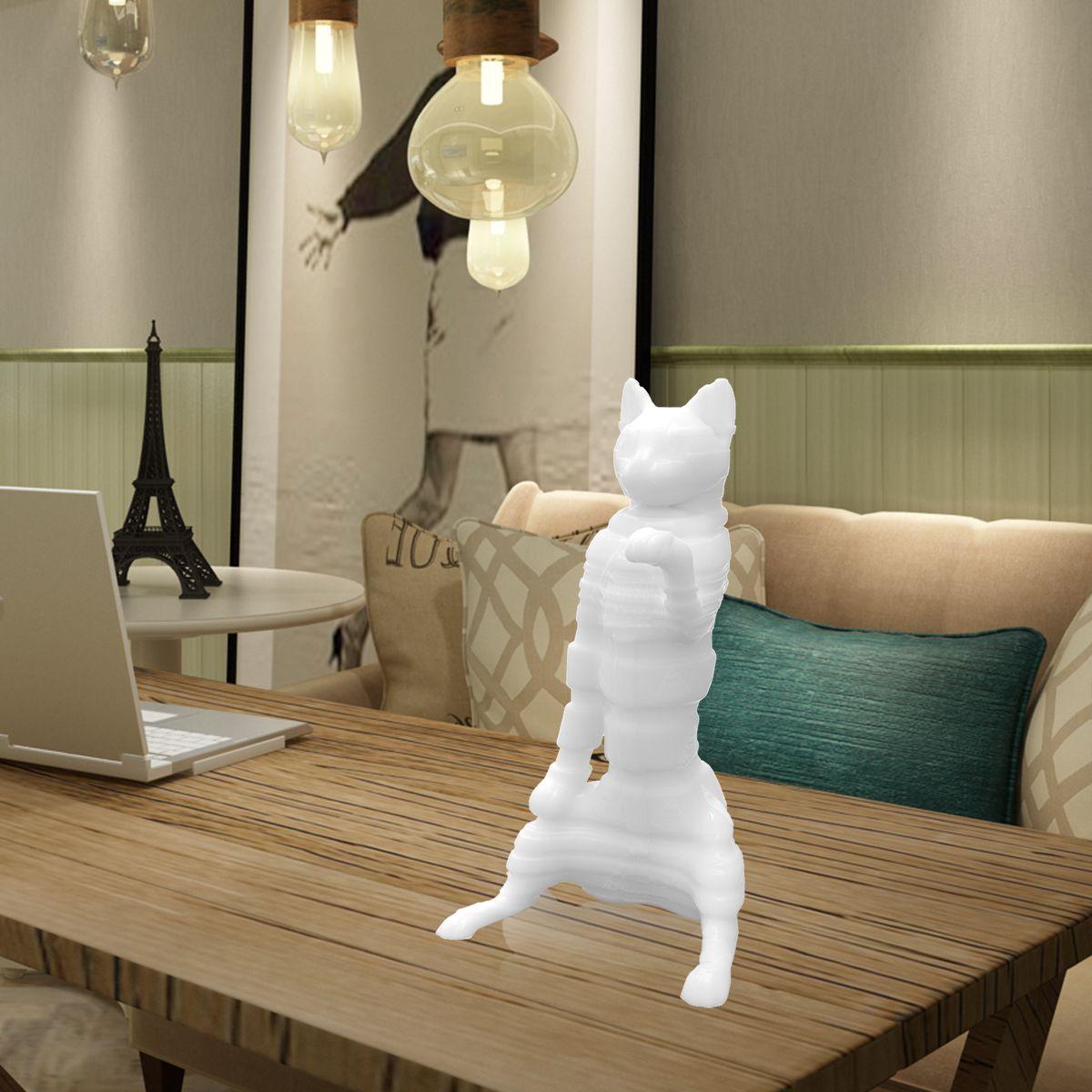 Tomfeel 3D Printed Sculpture Mummy Cat Originally Designed Home Decor
