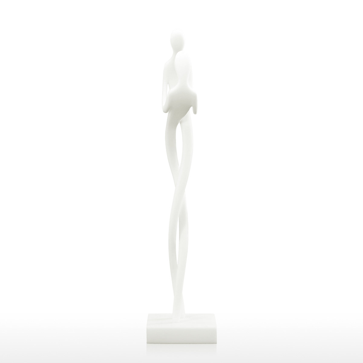Best And Cheap White Embrace 3d Printed Sculpture Abstract Modern Statue Loving Couple Statue Gift Art Home Decor Tooarts Com