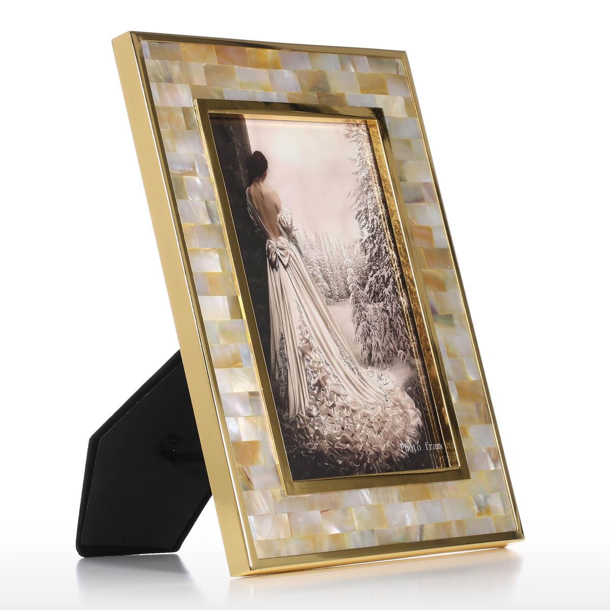 Mejor y barato Marco de fotos con Golden Shell Black Lip Shell Piano ...
