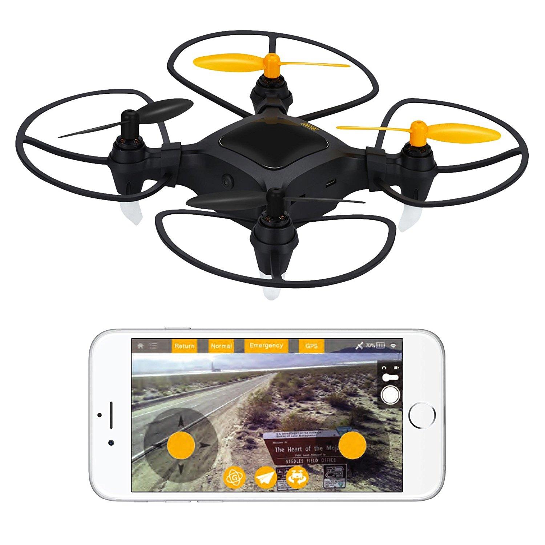 1 plus nano drone mit 1080p hd kamera und gps kleine. Black Bedroom Furniture Sets. Home Design Ideas