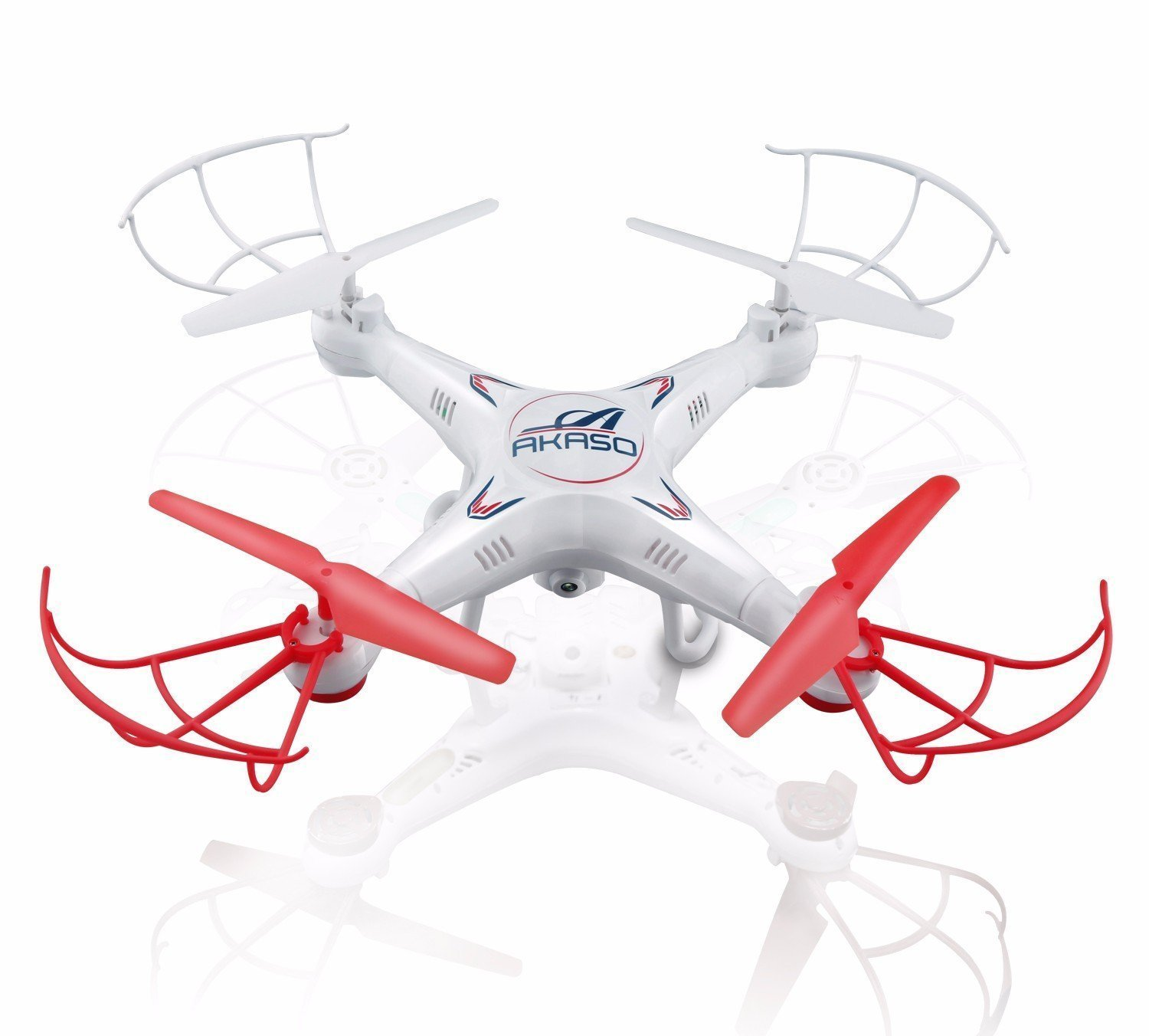 Get 7$ off for Akaso X5C 4-Channel 2.4-GHz 6-Axis Gyro Headless 360-Degree 3D Rolling Mode RC Drone Only 62.99$ with code  AKX5C+