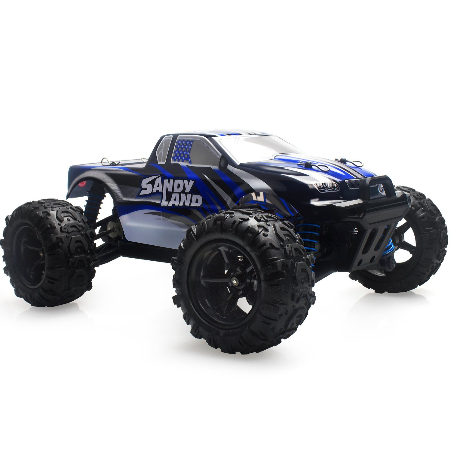 Remote Control Car Terrain Rc Cars Electric Off Road Monster Truck 1 18 Scale 2 4ghz Radio 4wd Fast 30 Mph With Rechargeable