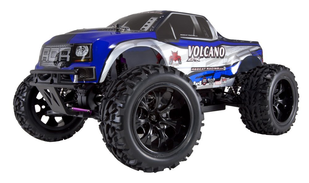 Get 10$ off for Redcat Racing Volcano EPX Electric Truck Blue/Silver 1/10 Scale Only 169.99$ with code  +
