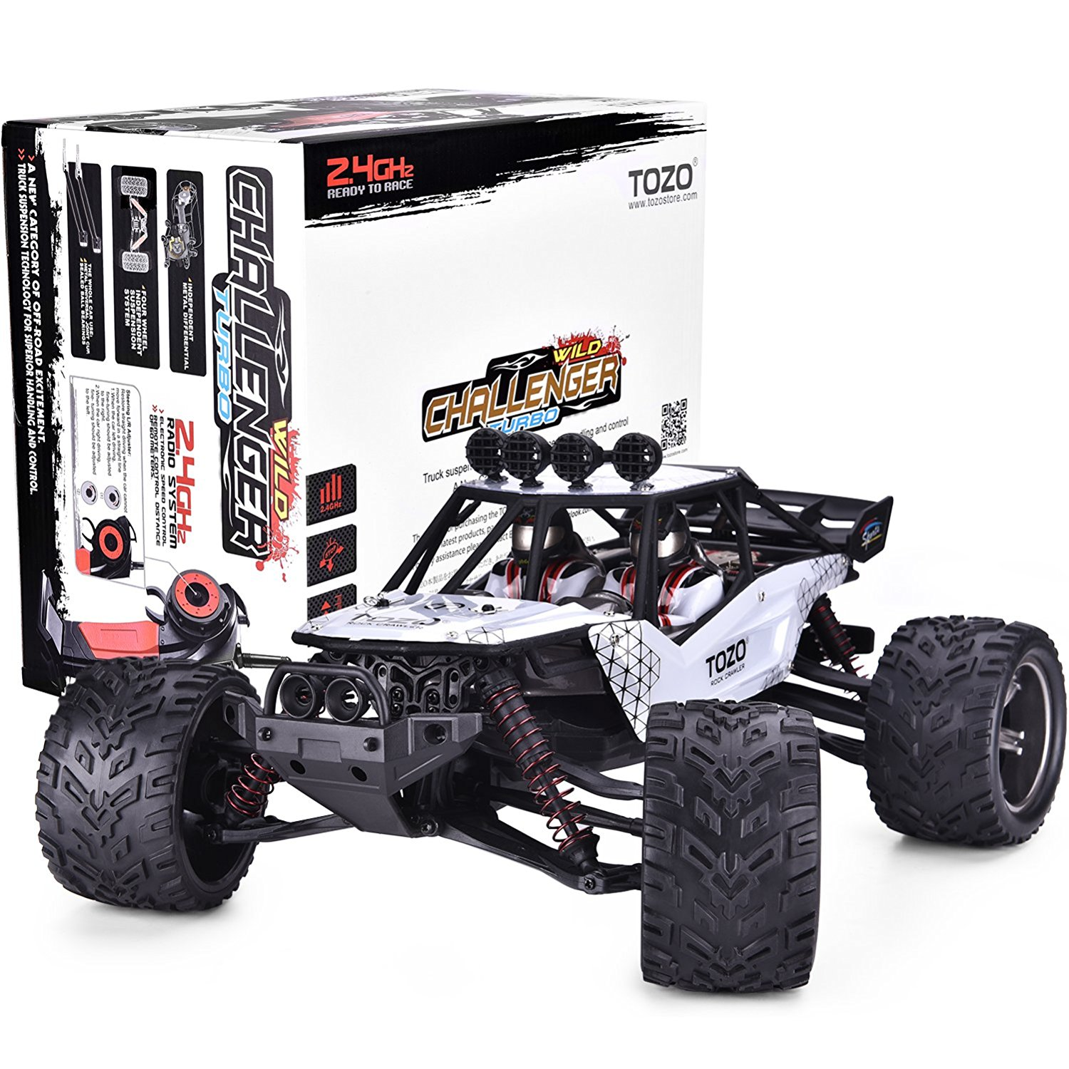 Us Tozo C2035 Rc Cars High Speed 30mph 1 12 Scale Rtr Remote Control