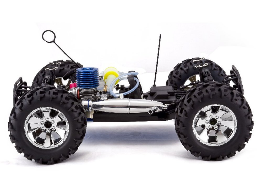 us Redcat Racing Earthquake 3.5cc 2-Speed Nitro Semi Truck ...