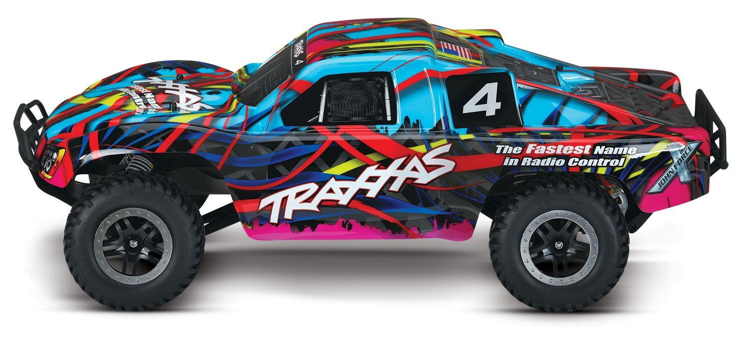 Us Traxxas Slash 1 10 Scale 2wd Short Course Racing Truck With Tq 2 4ghz Radio System Hawaiian Rcmoment Com