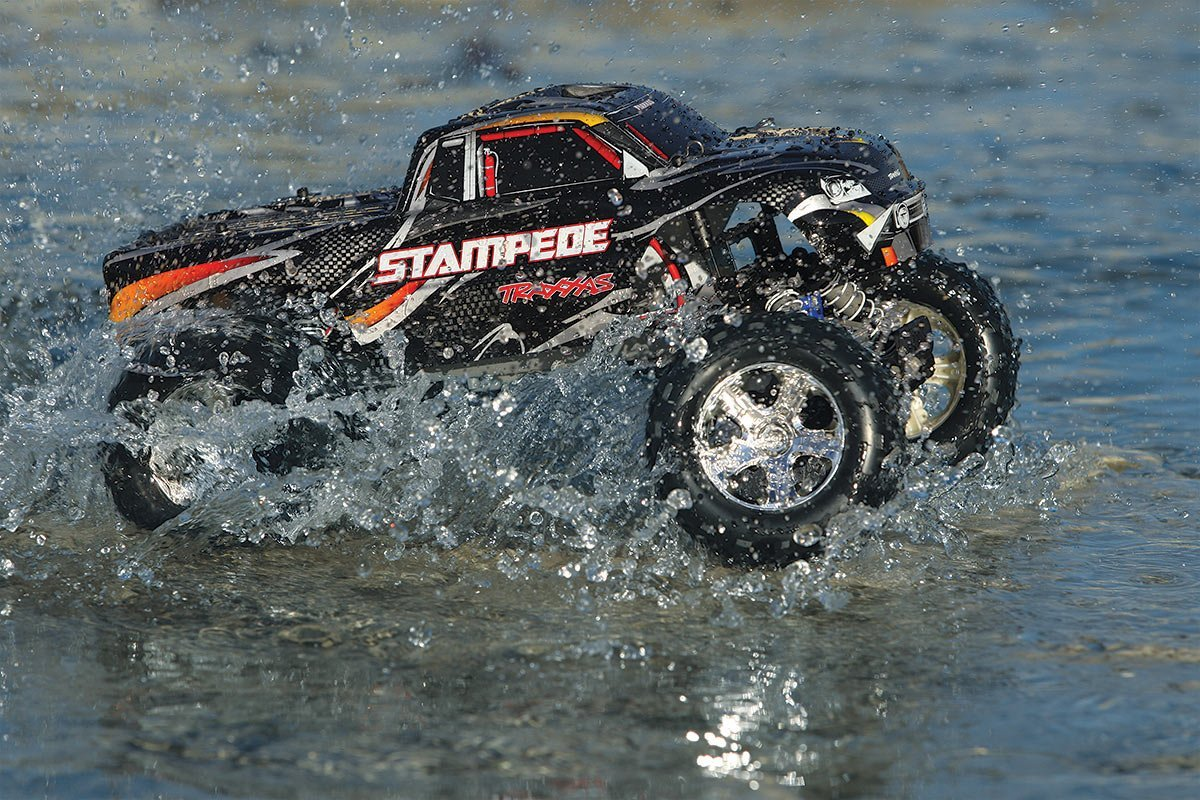 us Traxxas Stampede 1/10 Scale 2WD Monster Truck with TQ 2 ...