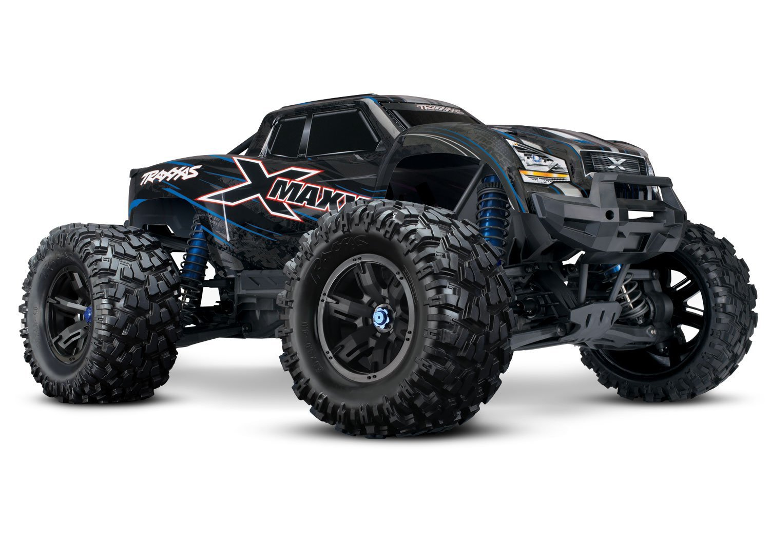 Get Extra 20$ off for Traxxas 8S X-Maxx 4WD Brushless Electric Monster RTR Truck, Blue Only 989.99$ with code  shipped US