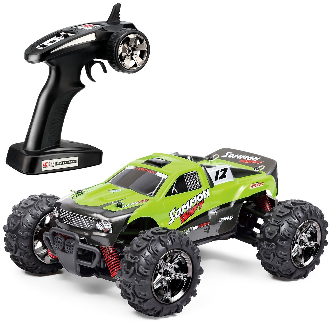 Tozo C1142 Rc Car Sommon Swift High Sd 30mph 4x4 Fast Race Cars1 24